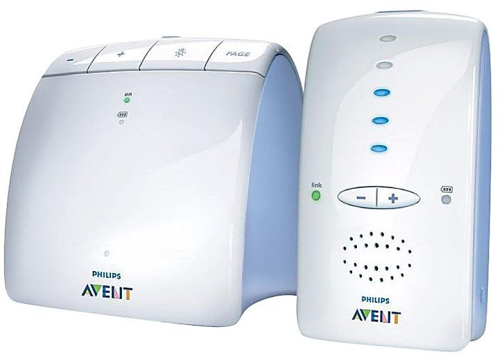 Avent Naturally Philips Basic Baby Monitor with DECT Technology