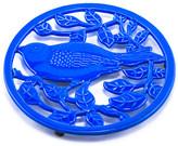 ODI HOUSEWARES Two-Tone Dazzling Blue Little Birdie Trivet