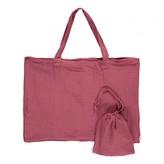 Numero 74 Cotton shopping bag and envelope -