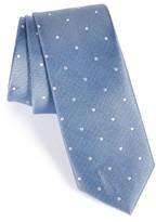 Nordstrom Men's Dot Silk Skinny Tie