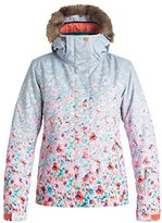 Roxy SNOW Women's Jet Ski Printed Gradient Slim Fit Jacket