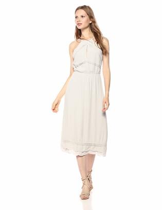 Elliatt Women's Apparel Women's Elation Sleeveless Halter Slip Sheath Dress