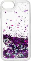 Chiara Ferragni Water Glitter Logomania Phone Cover