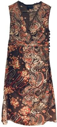 Stella Forest Multicolour Cotton Dress for Women