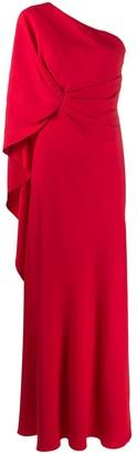 Alberta Ferretti Asymmetric Gown