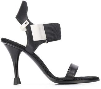 Premiata Mesh Panel Sandals