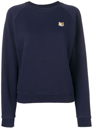 MAISON KITSUNÉ Fox patch sweatshirt