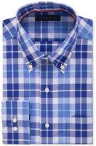 Tommy Hilfiger Men's Classic-Fit Non-Iron Opal Plaid Dress Shirt