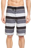 O'Neill Men's Santa Cruz Stripe Board Shorts