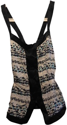 ICB Multicolour Silk Top for Women