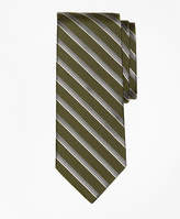 Brooks Brothers Double Sidewheeler Stripe Tie