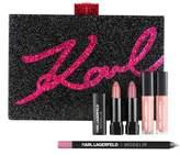 Model CO Kiss Me Karl Minaudiere Mini Lip Kit