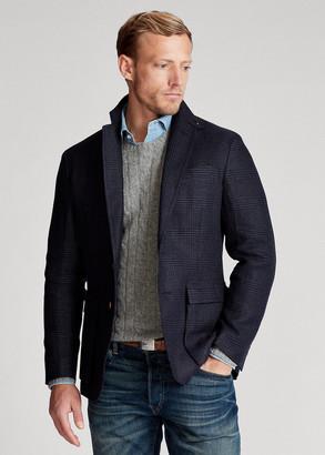 Ralph Lauren Soft Plaid Linen Sport Coat