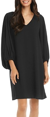 Karen Kane Bishop-Sleeve Shift Dress