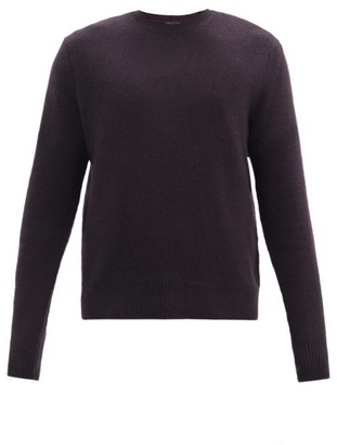 Rag & Bone Haldon Cashmere Sweater - Dark Purple