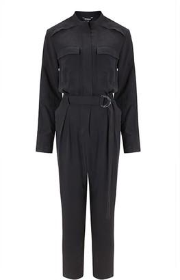 Baukjen Emory Jumpsuit In Washed Black