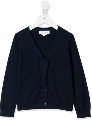 Bonpoint Tie-Embellished Cardigan