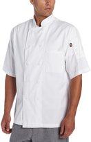 Dickies Men's Donatello Short Sleeve Classic Chef Coat