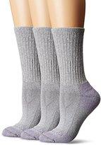 Carhartt Women's MD (Women's Shoe Size 5.5-11.5) 3 Pack Cotton Crew Work Socks