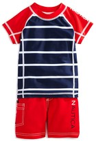 Nautica Boys' Rashguard Swim Set - Sizes 2T-4T