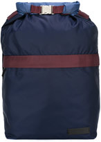 Marni colour block backpack - men - Cotton/Leather/Polyamide - One Size