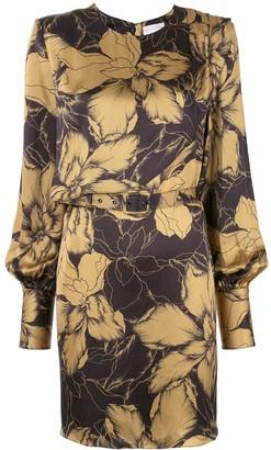 Rebecca Vallance Long Sleeve Mini Dress