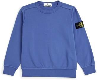 Stone Island Junior Logo Badge Sweatshirt