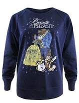 Disney Women's Classic Sweatshirt,(Manufacturer Size: Medium)