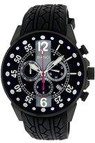 Roberto Bianci Men's 7098mrub-gun_blkgr Pro Racing Analog Display Analog Quartz Black Watch