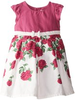 Beberose JoJo Maman Party Dress (Baby) - Raspberry-12-18 Months
