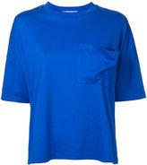 Enfold chest pocket T-shirt - women - Cotton - 36