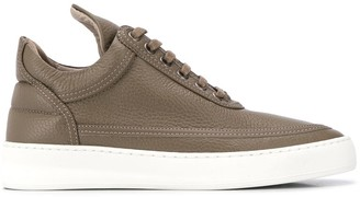 Filling Pieces Lace-Up Low Tops