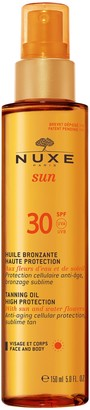 Nuxe Sun Tanning Oil High Protection SPF 30 Face & Body, 150ml