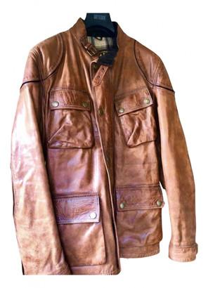 Belstaff Brown Leather Jackets