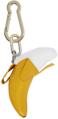 Yves Salomon Yellow Banana Key Ring