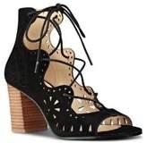 Nine West Gweniah Suede Lace-Up Sandals