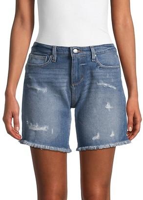 Joe's Jeans Mid-Rise Denim Bermuda Shorts