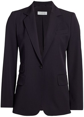 Max Mara Unno Two Button Wool Blazer