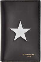 Givenchy Black Star Card Holder