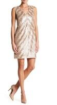 Rachel Roy V-Neck Sleeveless Sequin Dress