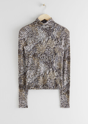 And other stories Long Sleeve Turtleneck