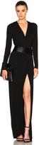 Alexandre Vauthier Long Sleeve Maxi Dress