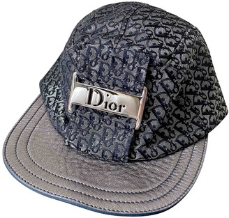 Christian Dior Silver Polyester Hats