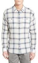 Patagonia 'Steersman' Slim Fit Windowpane Organic Cotton Sport Shirt