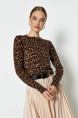 Coast Animal Print Crew Jumper