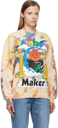 Online Ceramics Multicolor Tie-Dye 'Rainbow Maker' Sweatshirt