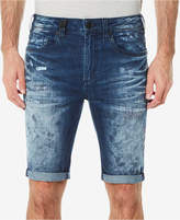 Buffalo David Bitton Men's Parker-X Slim-Fit Stretch Destroyed Denim Shorts