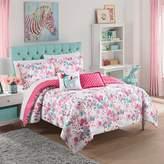 Waverly Kids Reverie Full/Queen Reversible Comforter Set in Pink