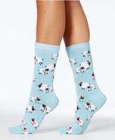 Charter Club Women's Scarf Sheep Socks, Created for Macy's