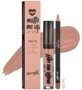 Barry M Matte Me Up Lip Kit
